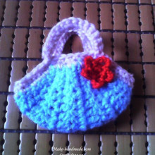 crochet mini purse for accessories