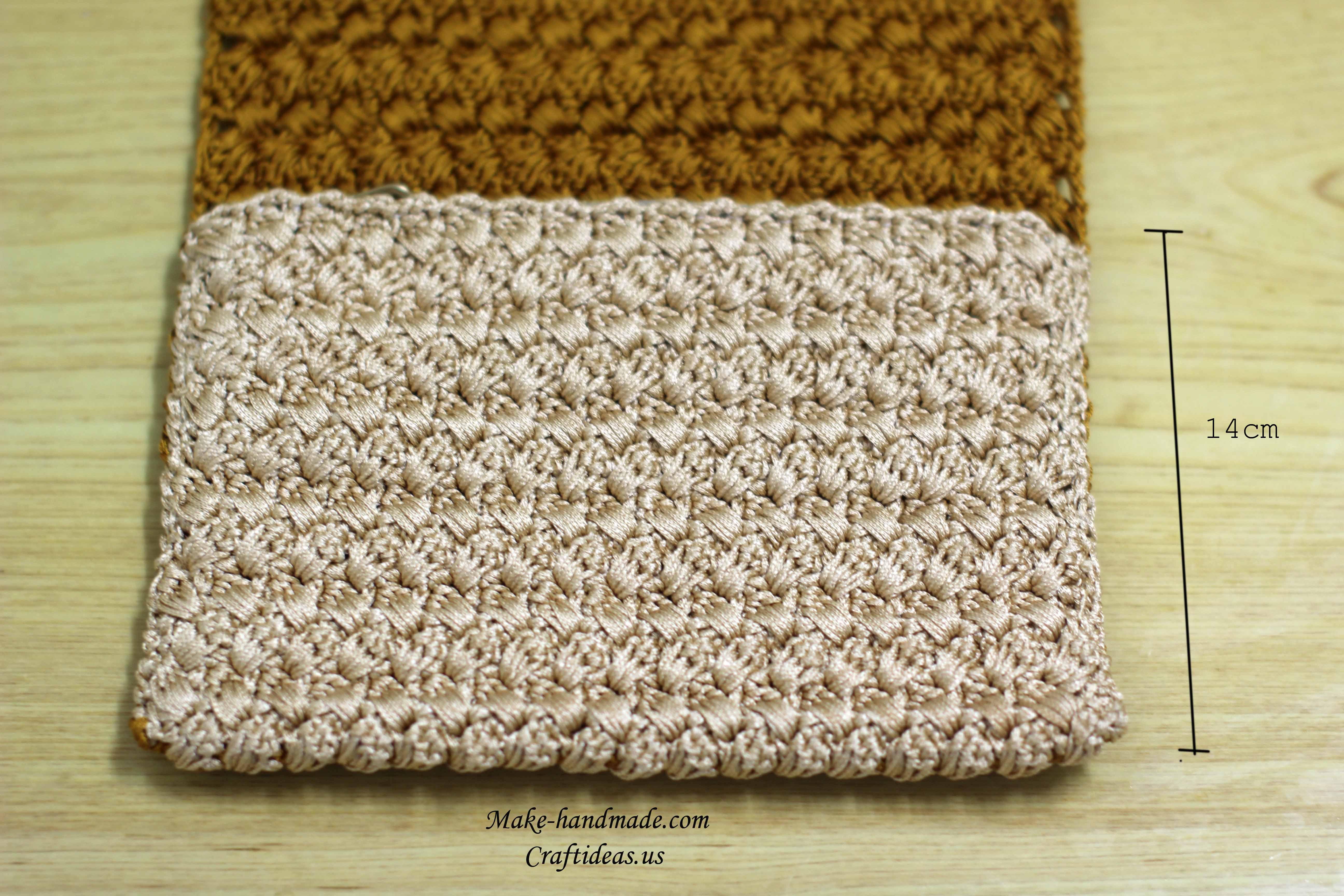 crochet purse and handbag