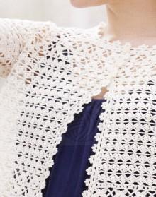 crochet summer jacket and pullover
