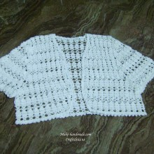 crochet summer lace vest and jacket