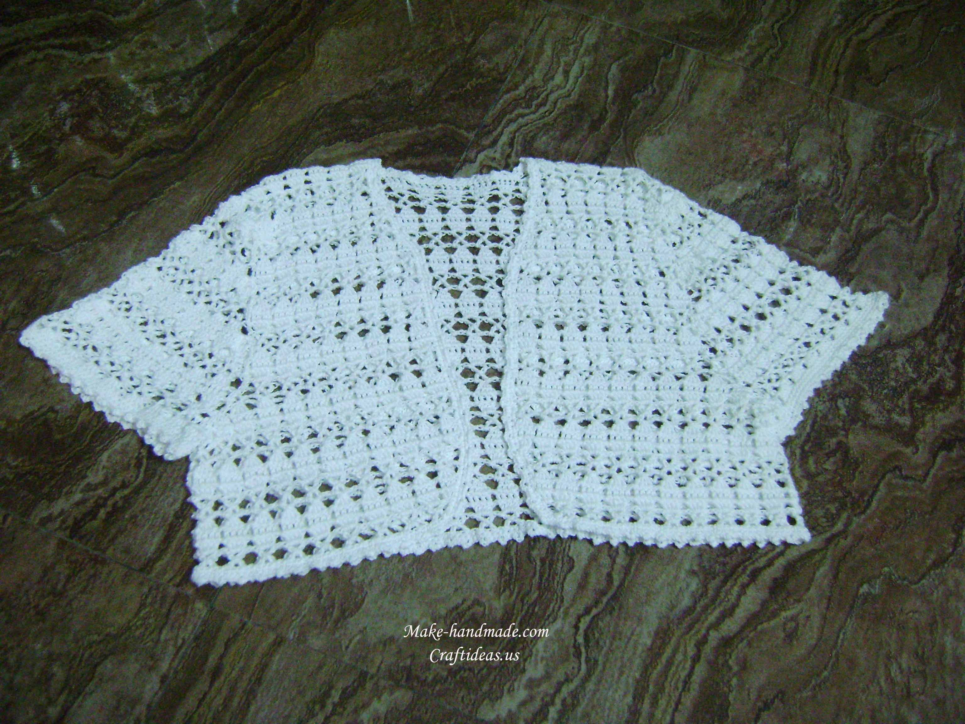 crochet summer vest and cardigan