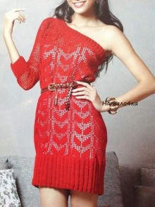 crochet beauty and sexy dress for girl