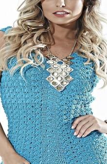 crochet beauty party dress for lady