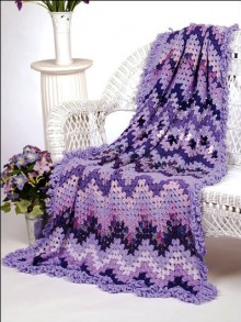 crochet pretty baby blanket