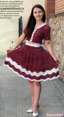 crochet summer dress for girl