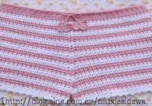 crochet summer shorts for all