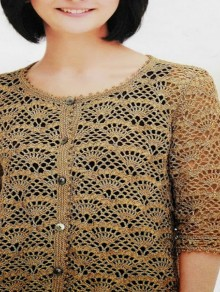 crochet lace cardigan for summer