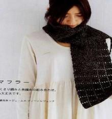crochet unique scarf idea