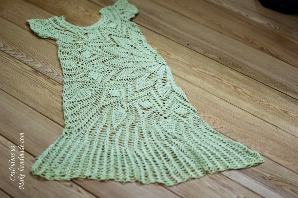 Crochet lace summer dress ideas