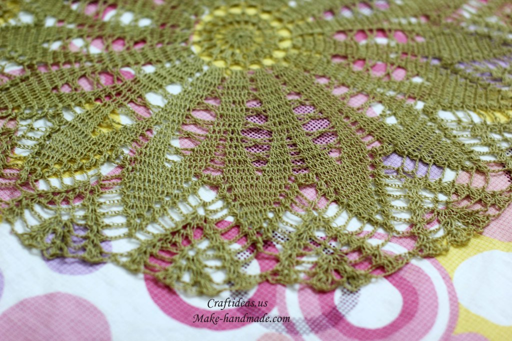 Crochet doily ideas