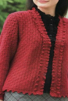 crochet cardigan and vest for women