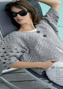 crochet cardigan for summer