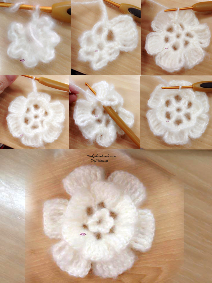 crochet flower and rose ideas and tutorial