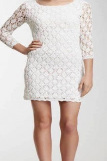 crochet lace dress for summer