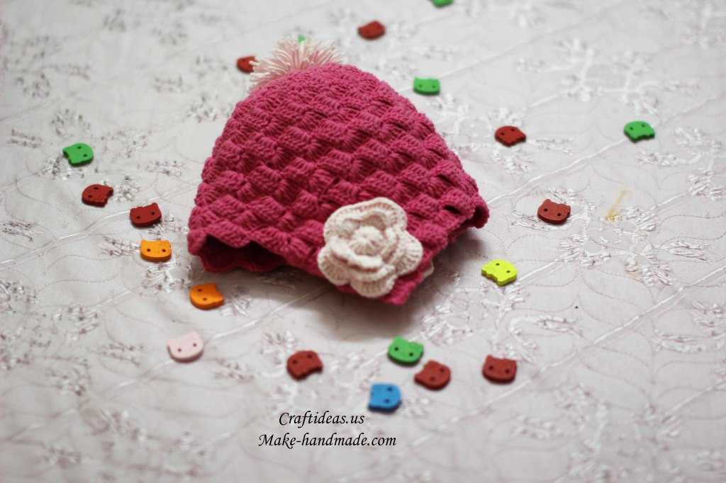 Crochet cute baby hat ideas