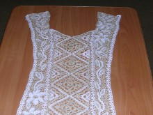 crochet lace dress for women