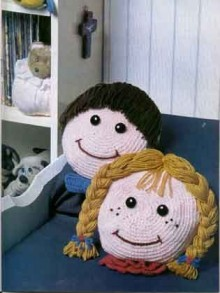 crochet funny pillows ideas for kids