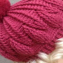 crochet so cute cabled hats and berets for women