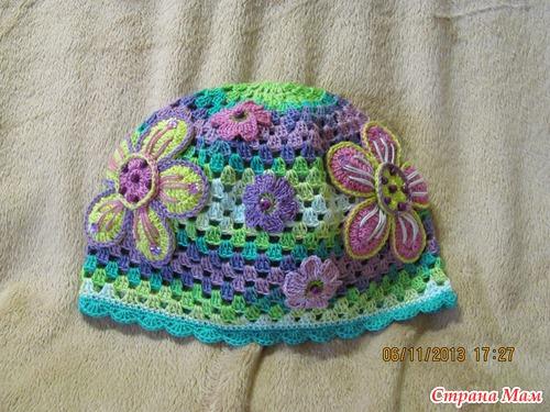 Яркие шапочки из МИСС Ализе батик