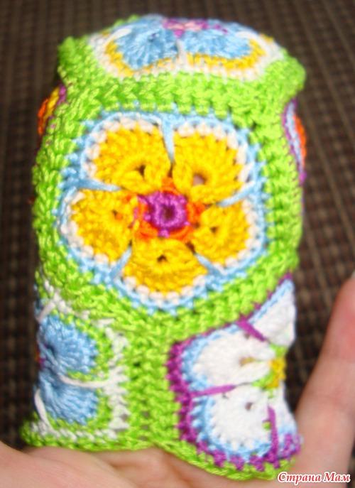African Flower Pony Crochet Pattern : crochet little pony of african flower hexagon make ...