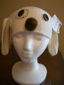 knitting cute dog headband