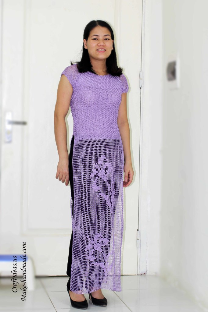Cool Vietnamese Dress Ao Dai