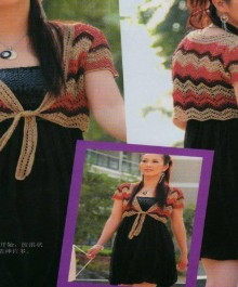 crochet bolero for summer