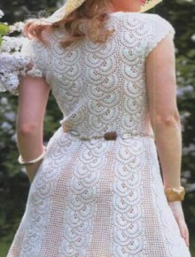 crochet very charming dress for women