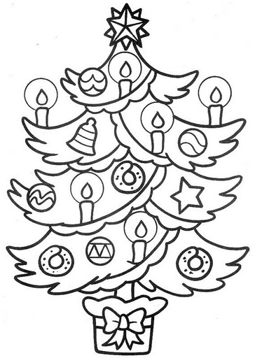 christmas games: christmas tree coloring for kids | make ...